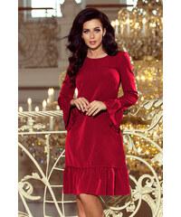 abae0fa3733a NUMOCO Čierne čipkované šaty s výstrihom 170-1 - Glami.sk