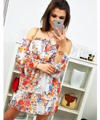 a14f9e4c9c3a Brand Letné šaty AMORE (ey0886) - biele ey0886