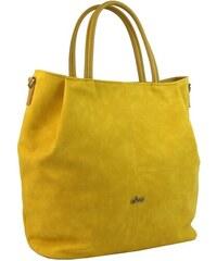 ce463984eb Žltá priestranná elegantná dámska kabelka S737 GROSSO