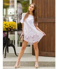 a93003fe9d14 MODANOEMI Dámske letné sexy biele šaty 8110-2B