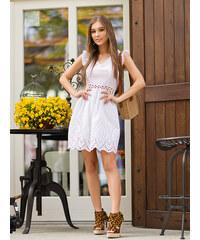 c795dd91b615 MODANOEMI Dámske letné sexy biele šaty 9-F5143B