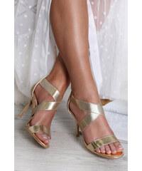 9c2b0a442f3b Belle Women Zlaté sandále Tayte