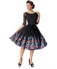 df23144d5b6b Belsira Retro šaty so širokou sukňou