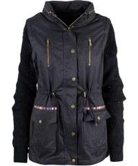 ed1f508b6e Desigual fekete kabát Morgan lazább fazon - Glami.hu