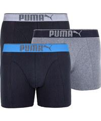 5656079307 3PACK pánské boxerky Puma vícebarevné (681030001 691)