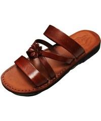 e18c5c7431d6 Faraon-Sandals SANACHT Dámské kožené pantofle 056 SANACHT 36