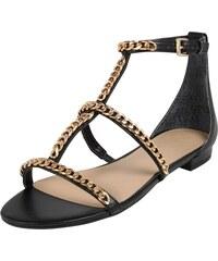 1fd4675a5f GUESS Remienkové sandále  RAIVEN  čierna