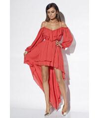 fe41695f74 Loula Červené šaty Fibi