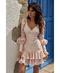 aaecf0608c23 Spoločenské Šaty s dlhým rukávom