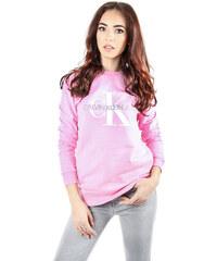 001fda9b67ff Calvin Klein dámská růžová mikina Crew