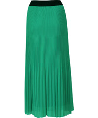 b1efa8813ea5 MADE IN ITALY Dámská plisovaná maxi sukně zelená UNI