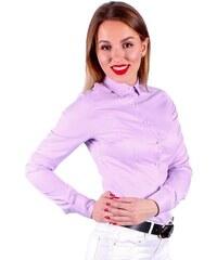 7dea669ca23d VERSABE Růžová dámská košile Slim-Fit VS-DK1731