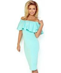 83b96ebecf23 Krátke bardot spoločenské šaty - modré LC61850-5 - Glami.sk