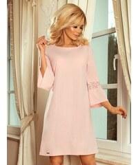 2369db2fd8da ModneVeci Dámske šaty s rozšíreným rukávom Margaret 190-1 ružové