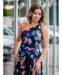 5ea950b14c93 VERSABE Dámske MAXI šaty VS-SA 1864 florálny vzor