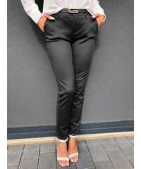 04726e3a565c ModneVeci Elegantné dámske nohavice sivé H8920