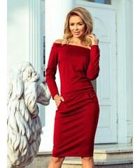300018bf959ec ModneVeci Dámske šaty s opaskom 209-1 pruhované - Glami.sk
