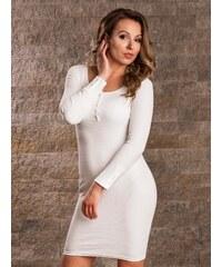 5b492ae4504b ModneVeci VERSABE Dámske letné šaty VS-SA 1904 biele
