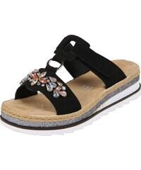 18f09c829b RIEKER Remienkové sandále čierna