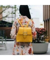 b1b60027f6 lubive.sk Elegantný ruksak CARMEN - yellow