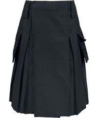 7ea56c6379b1 Brandit - Kilt - Stredne dlhá sukňa - čierna