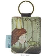 Santoro London - Klíčenka obdélníková - The Frog Prince