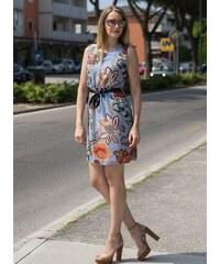 f41b06ee6771 Glamorous by Glam Volné letní šaty s přívěškem olivové - Glami.cz