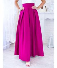 69a2266b8007 www.glashgirl.sk Tmavoružová dlhá elegantná sukňa