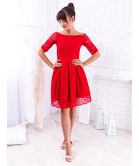 bd6778d1e675 www.glashgirl.sk Červené elegantné čipkované šaty
