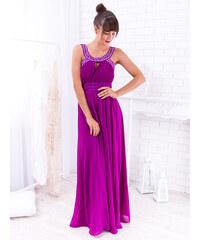 be6555a81653 www.glashgirl.sk Fialové dlhé spoločenské šaty s flitrami