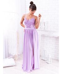 4823b8ce3eb2 www.glashgirl.sk Fialové dlhé spoločenské šaty Bella
