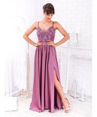705cdd373b23 www.glashgirl.sk Tmavofialové dlhé spoločenské šaty Bella