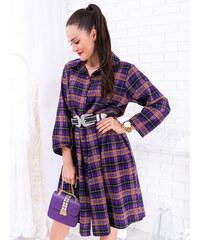 9e3ec70c5 www.glashgirl.sk Fialové dlhé spoločenské šaty s čipkou s dlhým ...