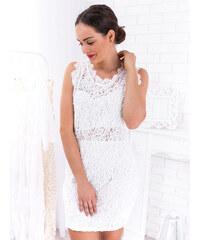 c332c1d4cc69 www.glashgirl.sk Biele krátke čipkované šaty Carlotta