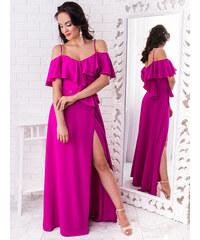 c0e7b9f05f9c www.glashgirl.sk Sivé dlhé spoločenské šaty s čipkou s dlhým rukávom ...