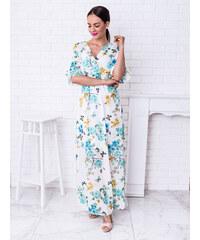 74c9eb3d2386 www.glashgirl.sk Biele dlhé kvetované šaty Rebecca