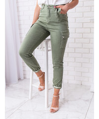 0adacb3cf165 www.glashgirl.sk Zelené nohavice s vreckami Brett