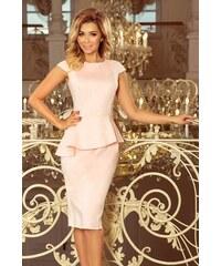 f74f50b08b91 Numoco společenské šaty MM-128948 růžová