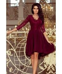 f53629ae51d9 Numoco večerní šaty MM-123484 červená