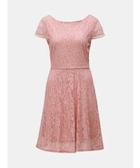 963aba6a7d3f Starorůžové krajkové šaty VERO MODA Sassa