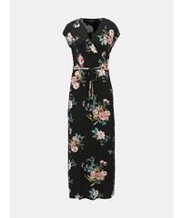 066fb404a898 Černé květované maxišaty Dorothy Perkins