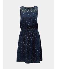 ad8dd51e125cc Vero Moda Dámske šaty Doss Lacole Ls O-neck Dress Boo Night Sky W ...