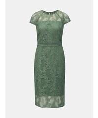 ebbd52258b Zelené čipkované puzdrové šaty Dorothy Perkins