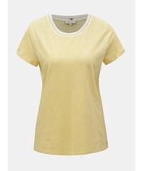6a5da1344b Žlté dámske ľanové tričko Tommy Hilfiger