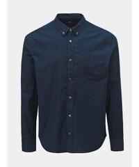 5225b163eb5c Tmavomodrá košeľa Burton Menswear London