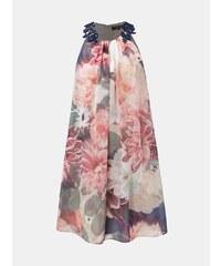 c5a63a165b3d Zeleno–ružové kvetované šaty s čipkou Dorothy Perkins Allana