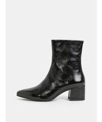 954658243e26 Čierne dámske kožené členkové topánky Vagabond Mya