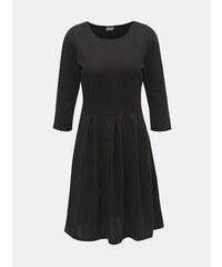 30b09df4af Čierne šaty s 3 4 rukávom VILA Tinny