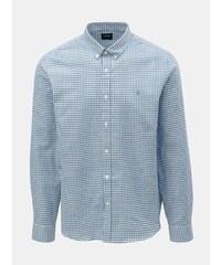 56d275f24c2a Svetlomodrá kockovaná košeľa Burton Menswear London