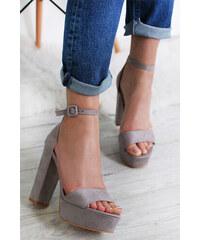 9097c2ffaf0d Ideal Sivé sandále Ronie